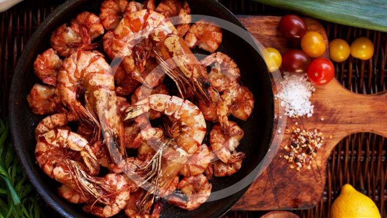 Jumbo Skewered Shrimp