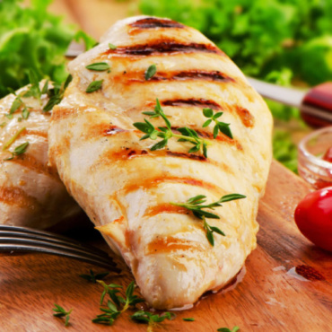 Char Grilled Chicken 1/2